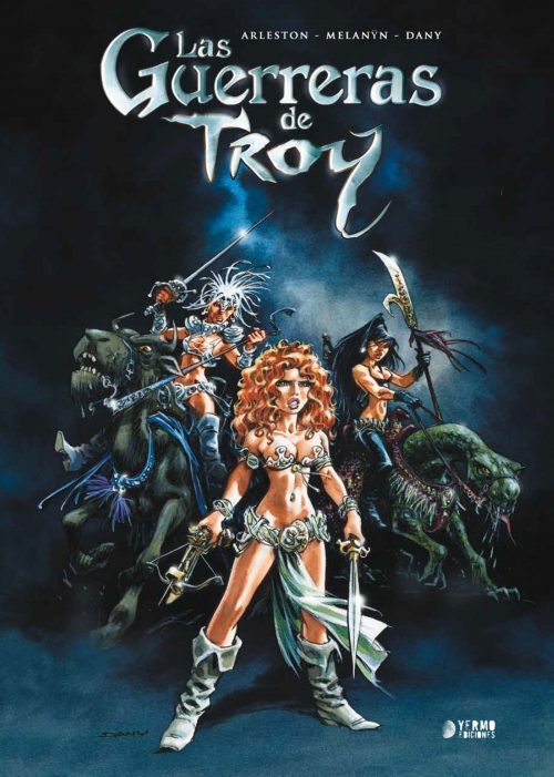 Guerreras Troy cover