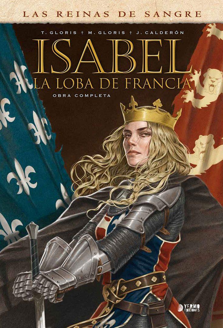Isabel La Loba de Francia portada