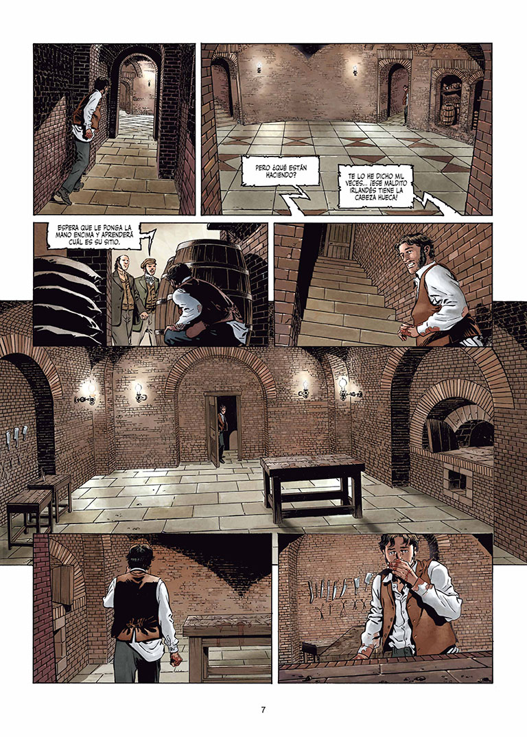 Sherlock Holmes Crime Alleys página interior