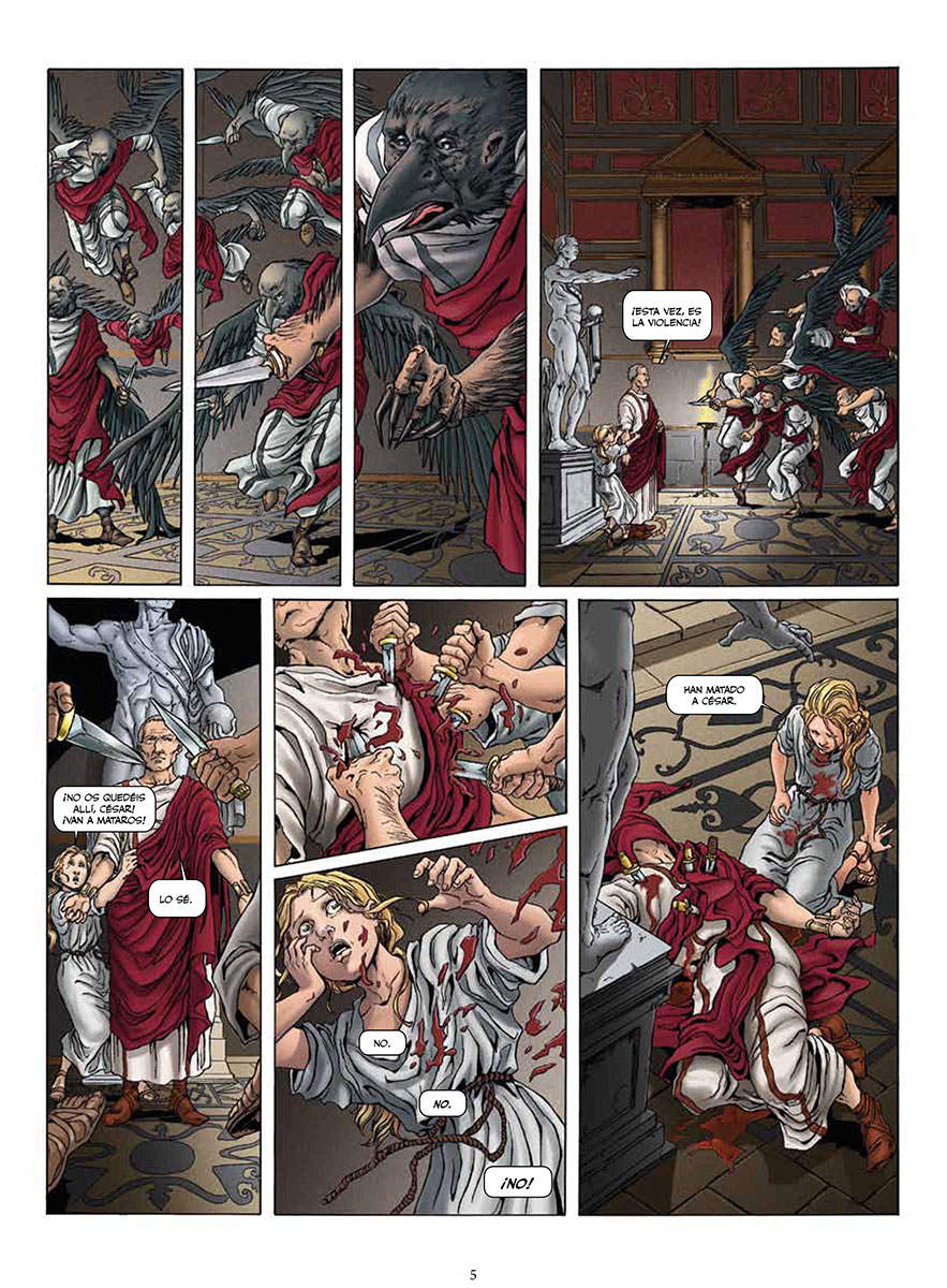 Roma volumen 2 página interior