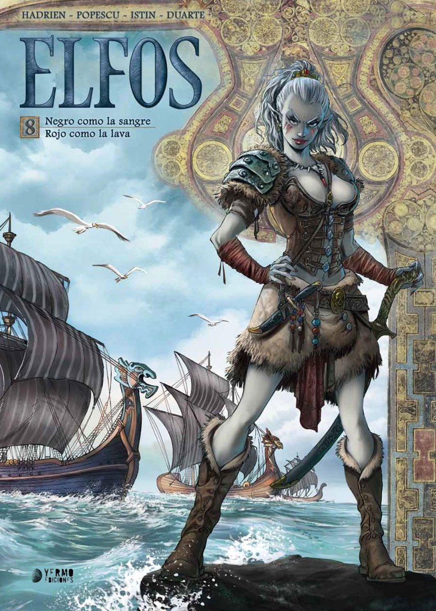 Elfos volumen 8 portada