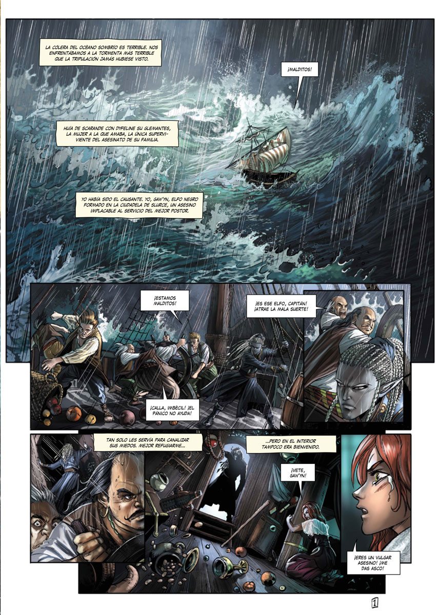 Elfos volumen 8 página interior
