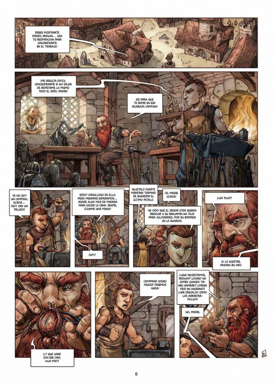 Enanos volumen 1 página interior