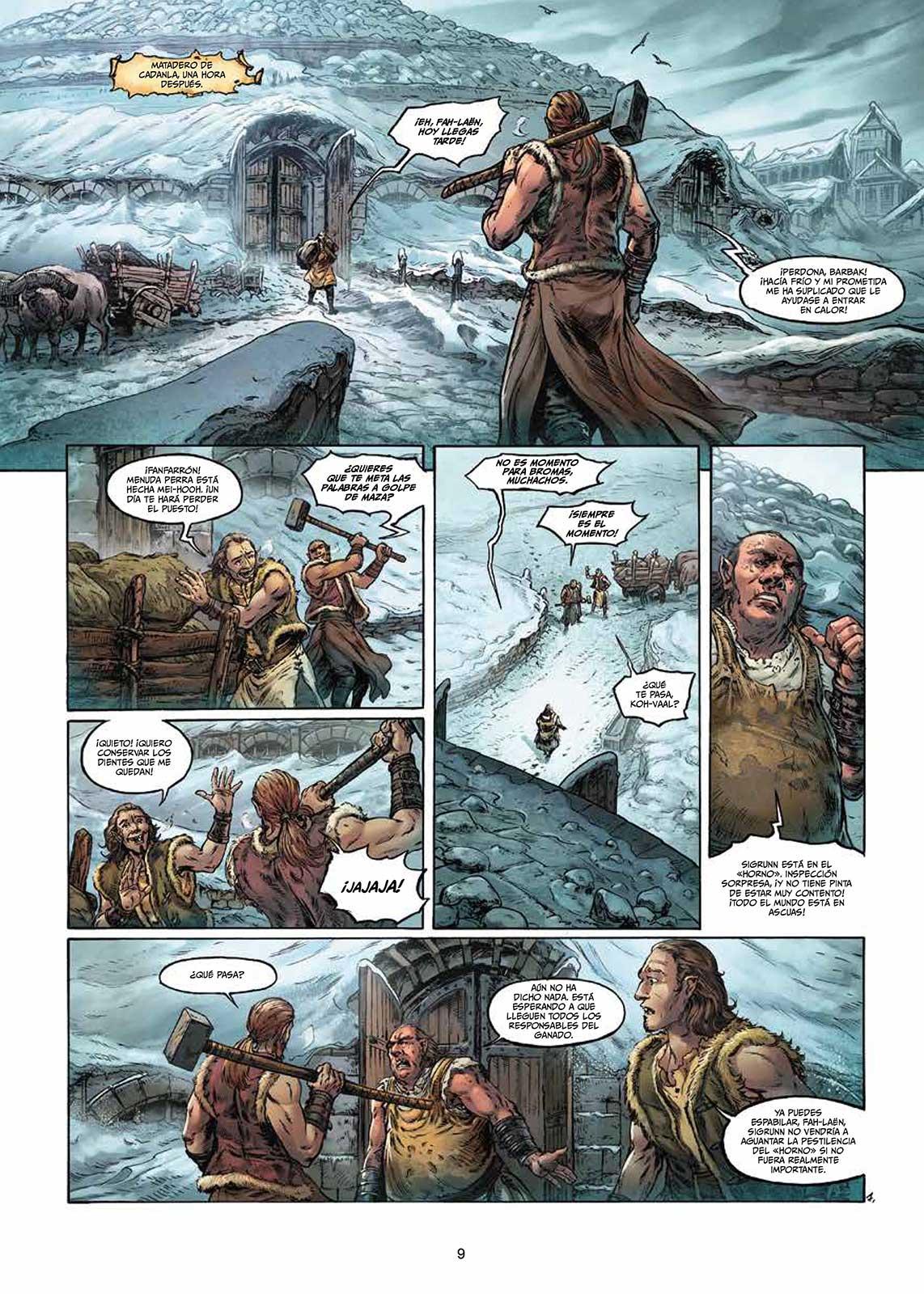 Elfos Volumen 5 página interior