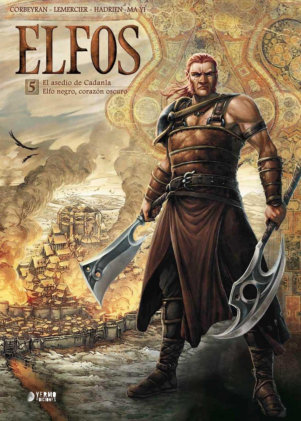 Elfos Volumen 5 portada