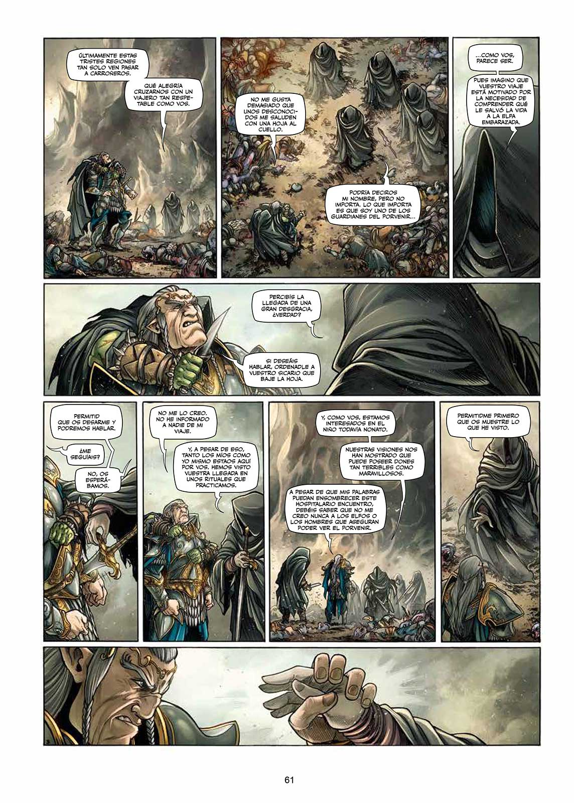 Elfos Volumen 9 página interior