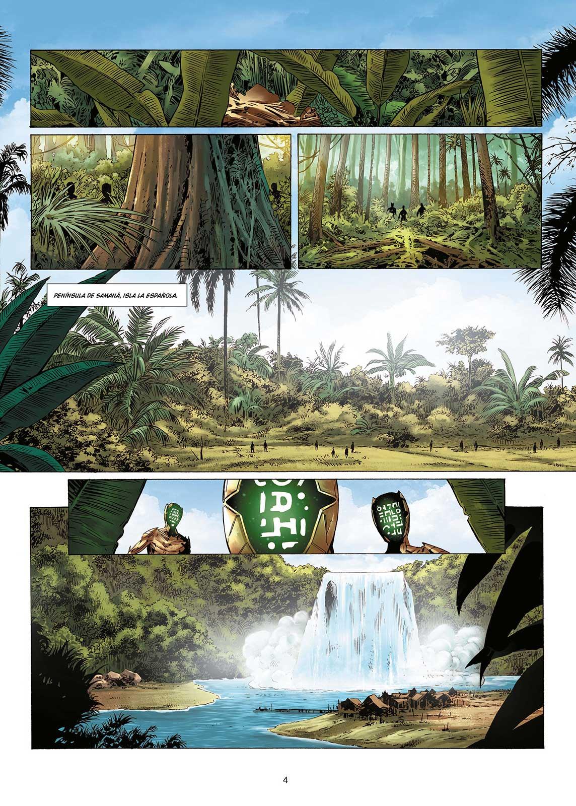 Olympus Mons vol.2 página interior