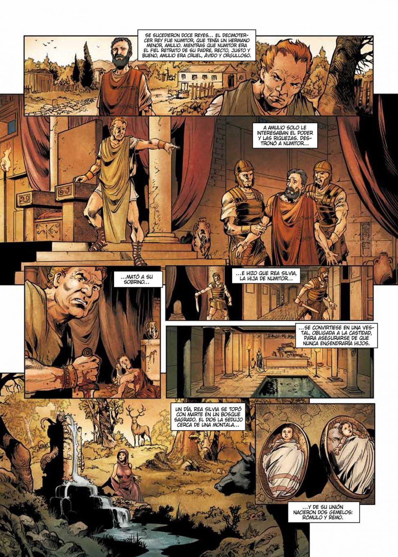 El Tercer hijo de Roma página interior