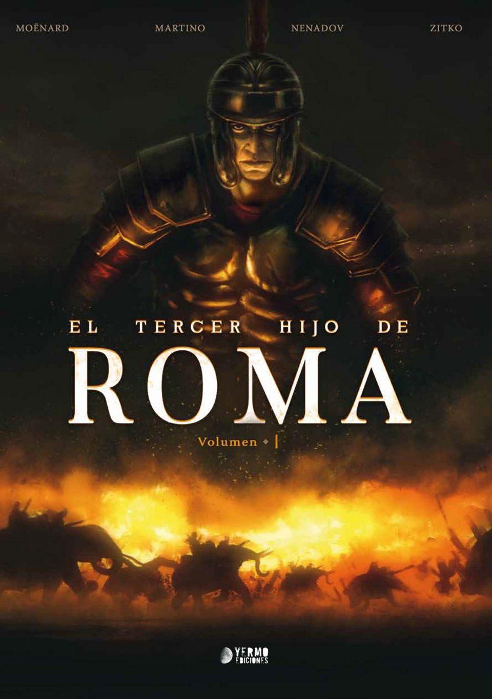 El Tercer hijo de Roma portada