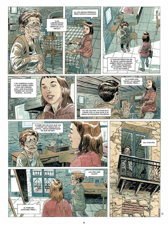 Brechas volumen 1 página interior