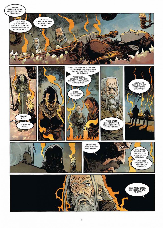 El Dios Serpiente volumen 2 página interior