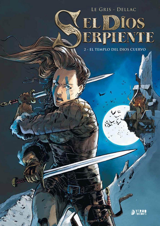 El Dios Serpiente volumen 2 portada
