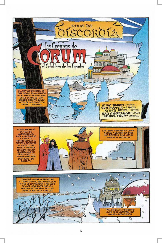 Corum 3 El rey de las espadas página interior