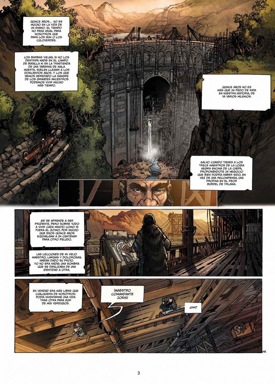 Enanos volumen 4 página interior