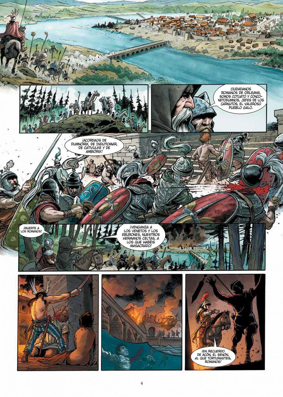 El tercer hijo de Roma volumen 2 página interior