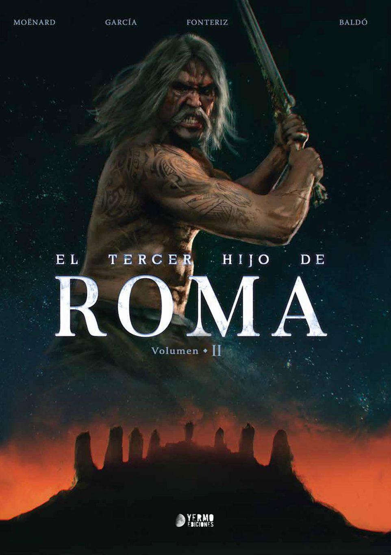 El tercer hijo de Roma volumen 2 portada