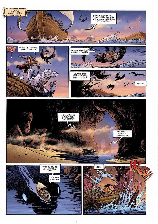 Lanfeust Odissey volumen 2 página interior