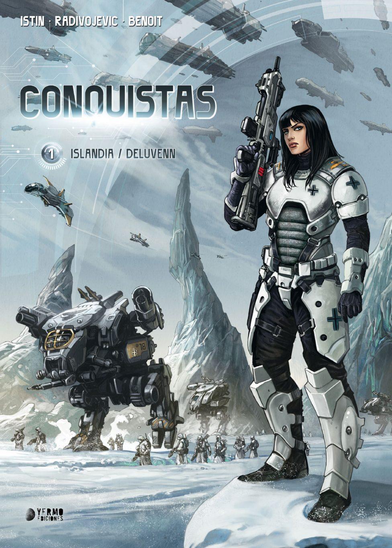 Conquistas vol 1 portada