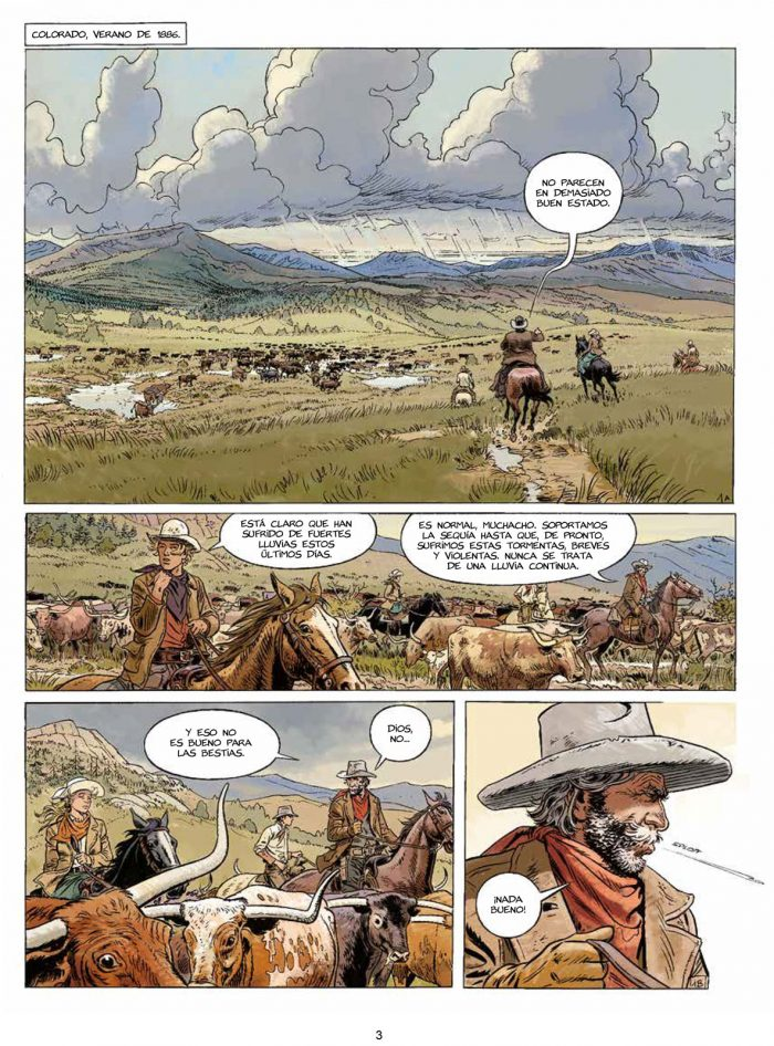 Gunfighter vol 1 página interior