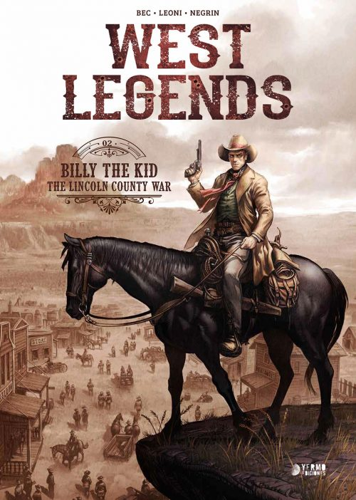 West Legends vol 2: Billy the Kid portada